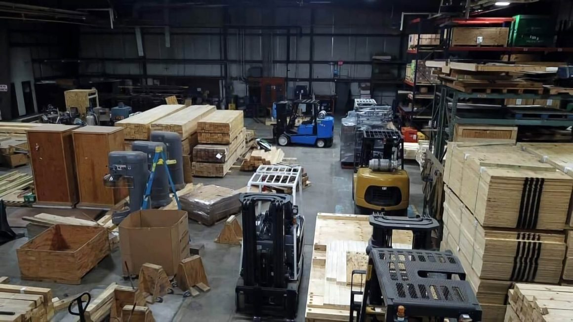 Crating and Packaging facility