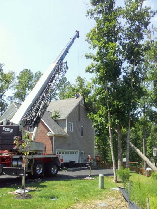 IMS Assists Local Companies to Clean Up After Hurricane Irene
