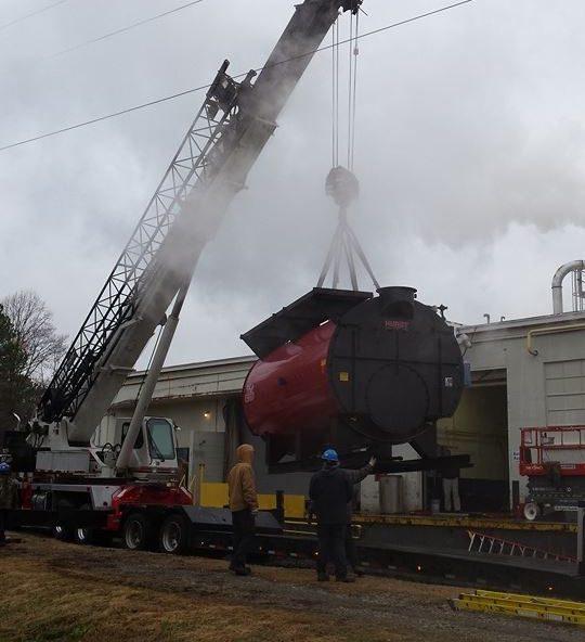 IMS removes 45000 pound boiler