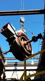 IMS removes 60000 pound motor