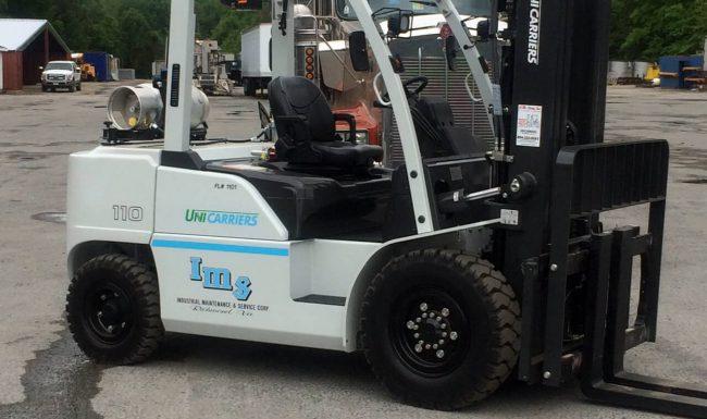 11,000# Forklift
