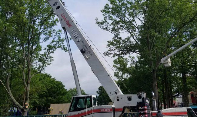 Crane Services at King's Dominion, Richmond, VA