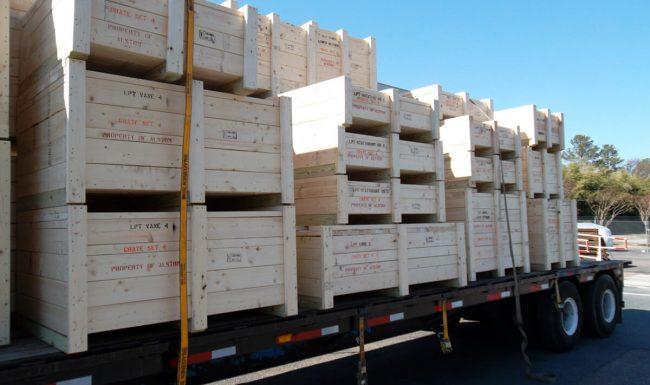 Transporting Crates