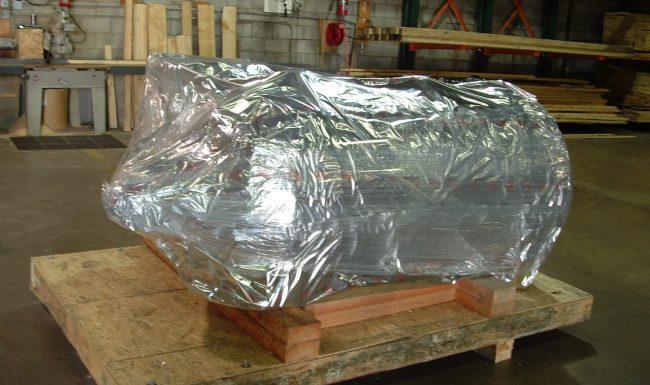 Vacuum Sealing with Pre-Foil Vapor Barrier