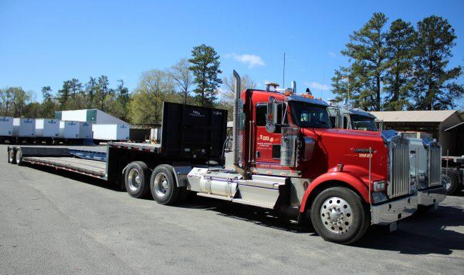 Hauling truck